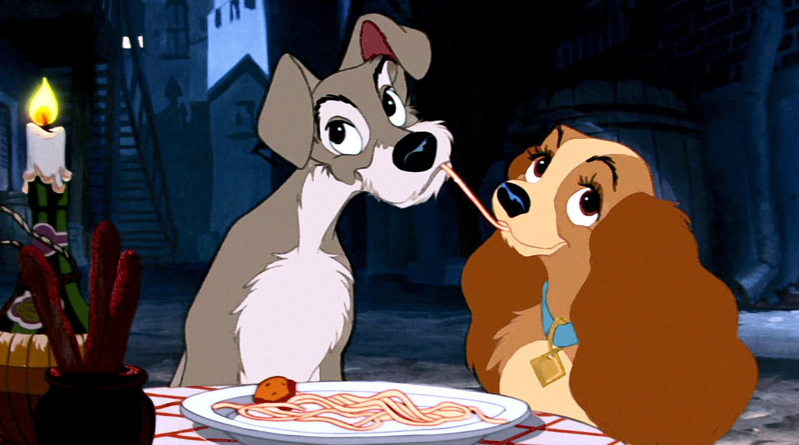Lady And The Tramp Remake Using Real Dogs Collider