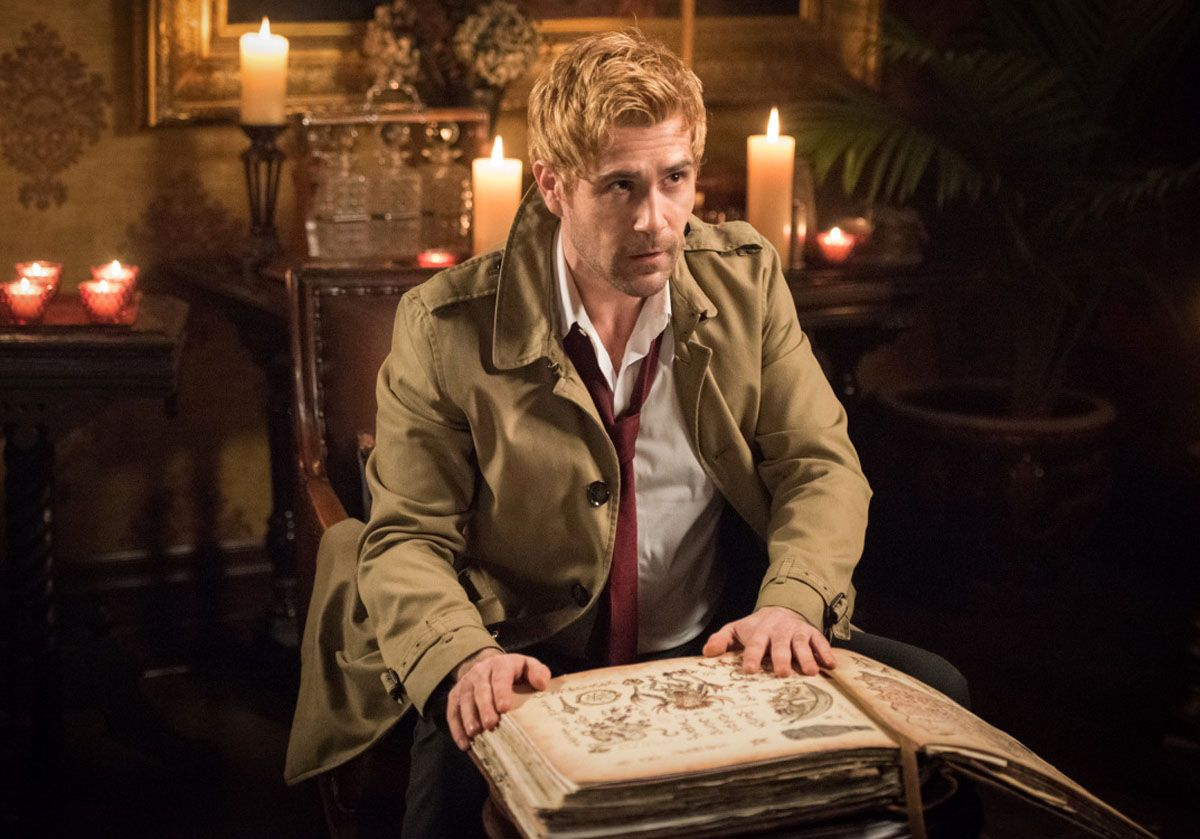 Matt Ryan's role in Constantine