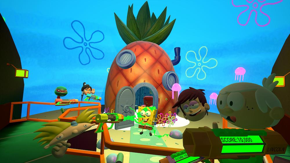 Nickelodeon S Virtual Reality Experience Slimezone Debuts