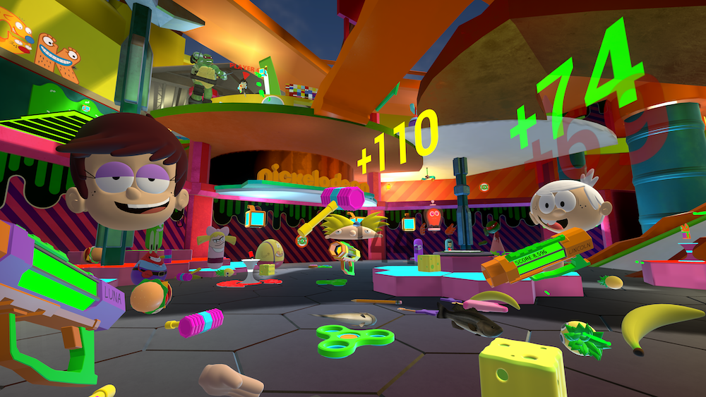 Nickelodeon's Virtual Reality Experience SlimeZone Debuts | Collider
