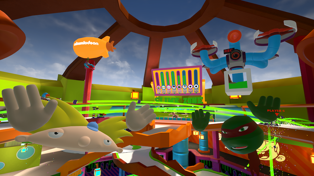 Nickelodeon's Virtual Reality Experience SlimeZone Debuts