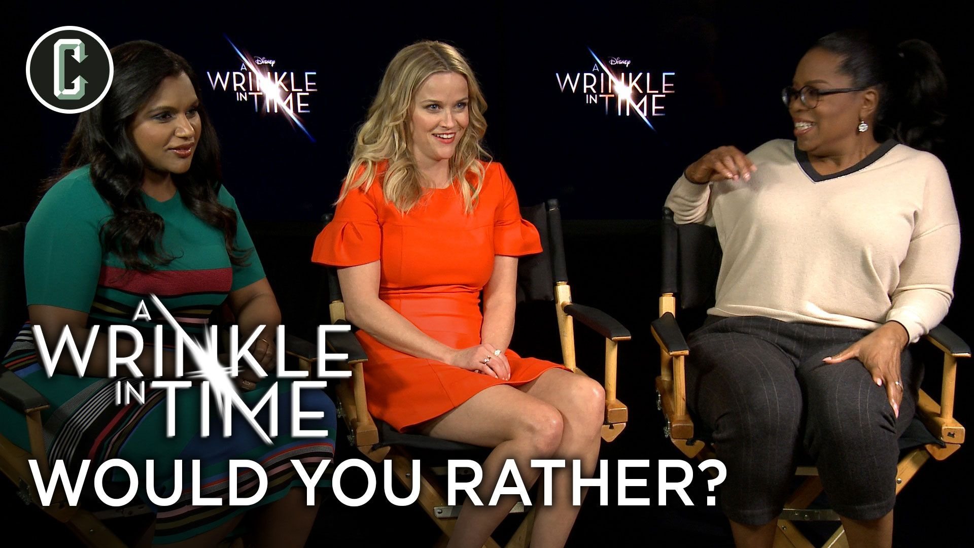 oprah winfrey reese witherspoon would you rather a wrinkle in time - See: Oprah, Reese Witherspoon & & Mindy Kaling Weigh in increasing of Streaming Services