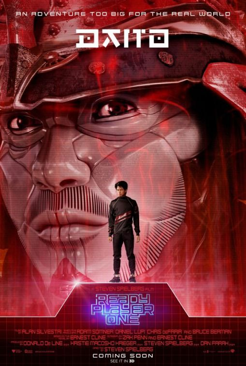 ready player one character posters reveal the avatars ready player one character posters