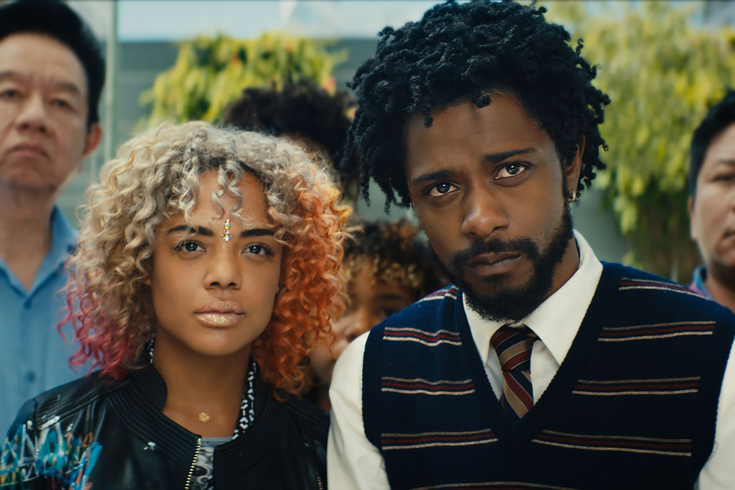 sorry to bother you tessa thompson lakeith stanfield - 'Sorry to Bother You' Trailer Reveals one of the most Insane Movie of 2018