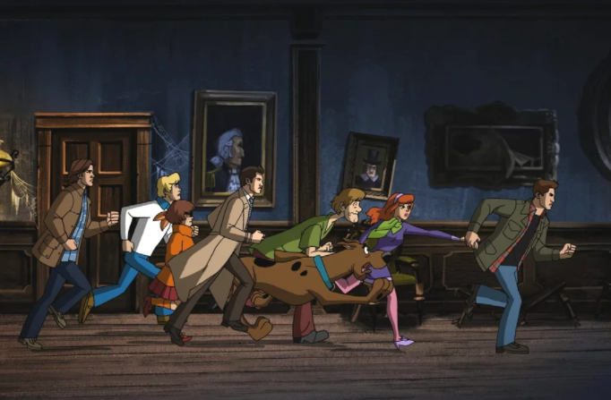 supernatural scooby doo episode images 1 - Today in Animation News: 'Supernatural'/ Scooby-Doo Crossover Trailer, Images Debut