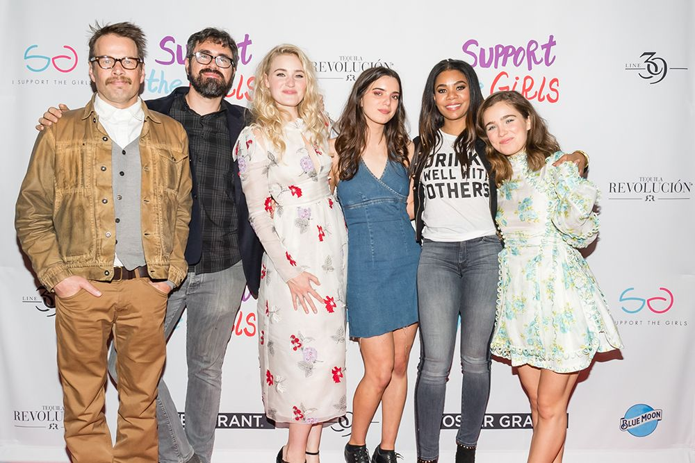 """support the girls sxsw party social - 'Support The Girls' SXSW Pre-Premiere Party Pics and Recap From """"Supper Suite by Foster Grant"""""""