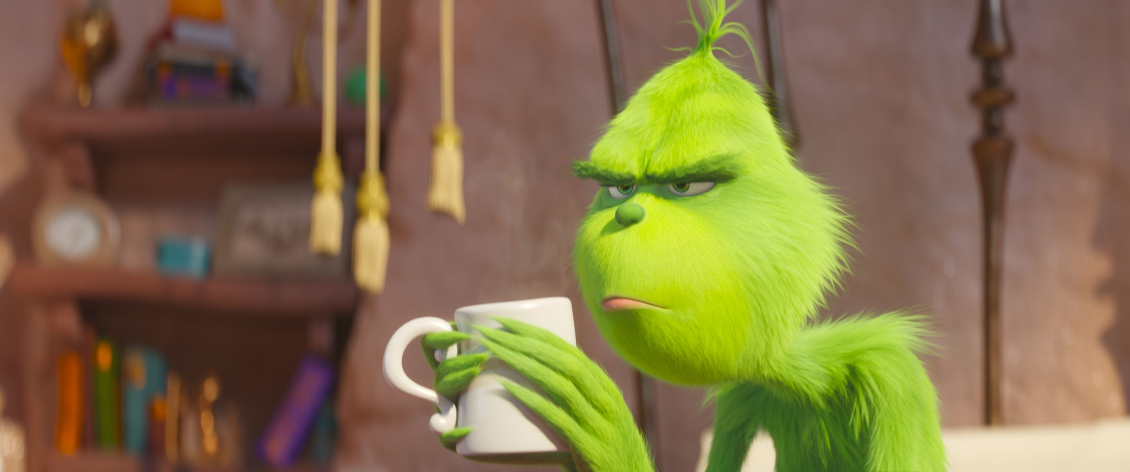 the grinch benedict cumberbatch - 'The Grinch': First Trailer Reveals Benedict Cumberbatch as the Lovable Grump
