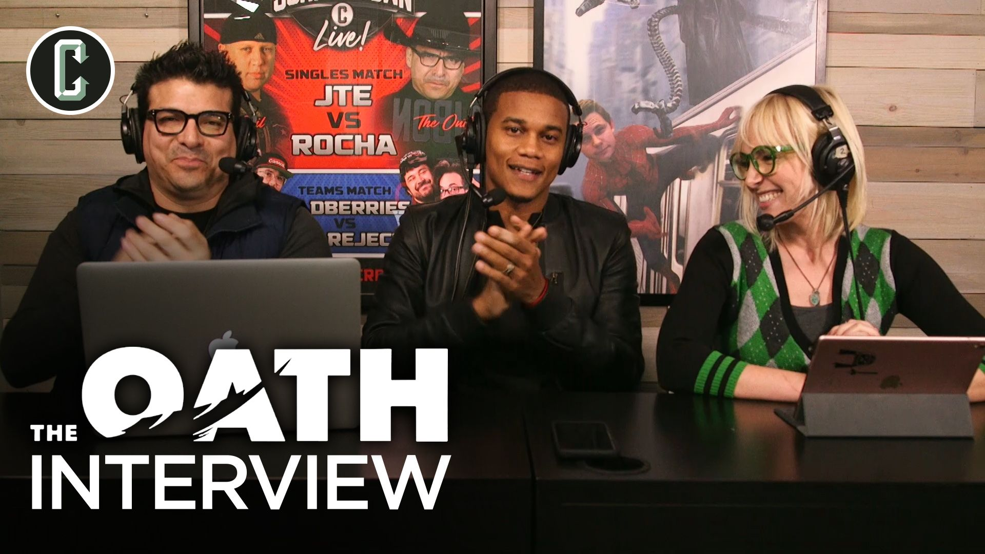 cory hardrict talks the brutal realism of the oath