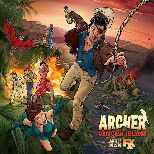 archer-danger-island-poster
