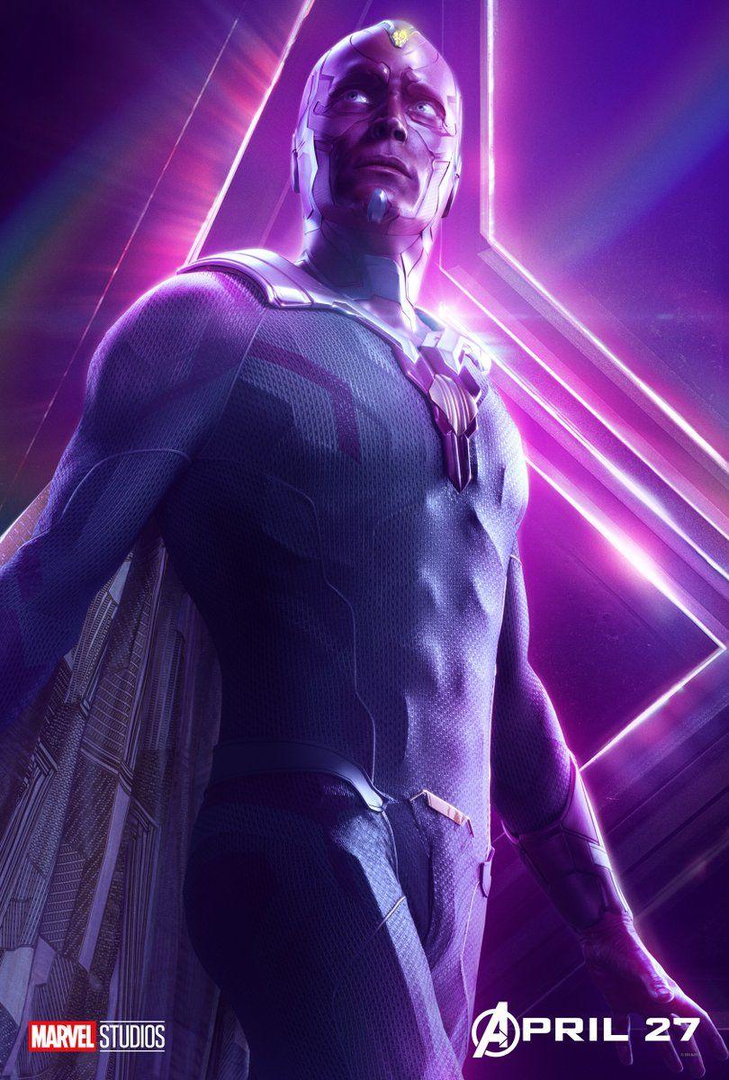 Infinity War Vision