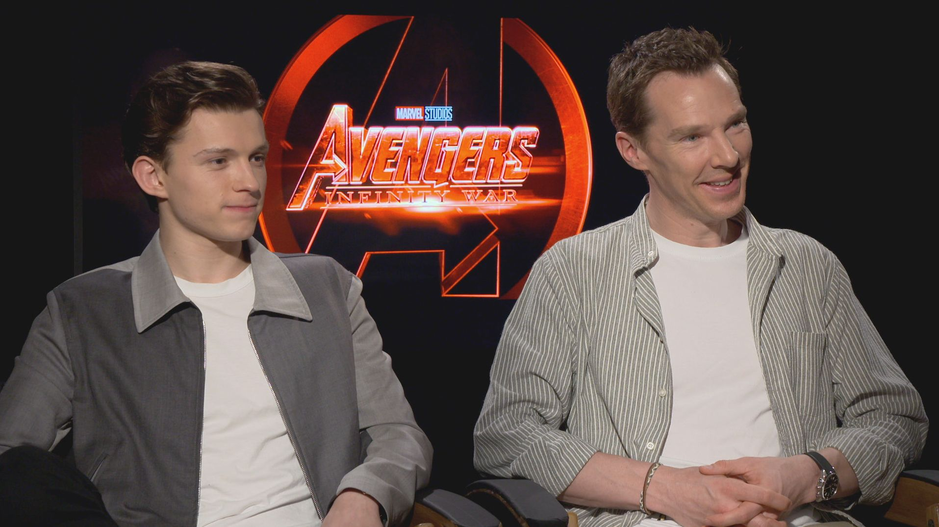 watch benedict cumberbatch keep tom holland from spoiling