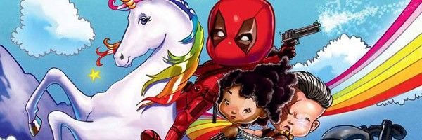 New Deadpool 2 IMAX Poster Goes Full Lisa Frank | Collider