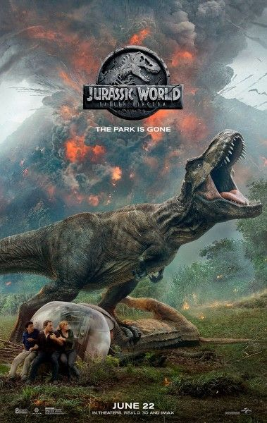 jurassic world  poster shuts   park  trailer tomorrow collider