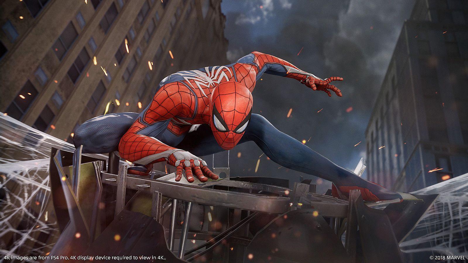 Spider-Man PS4: Iron Spider Suit Revealed as Pre-Order Bonus