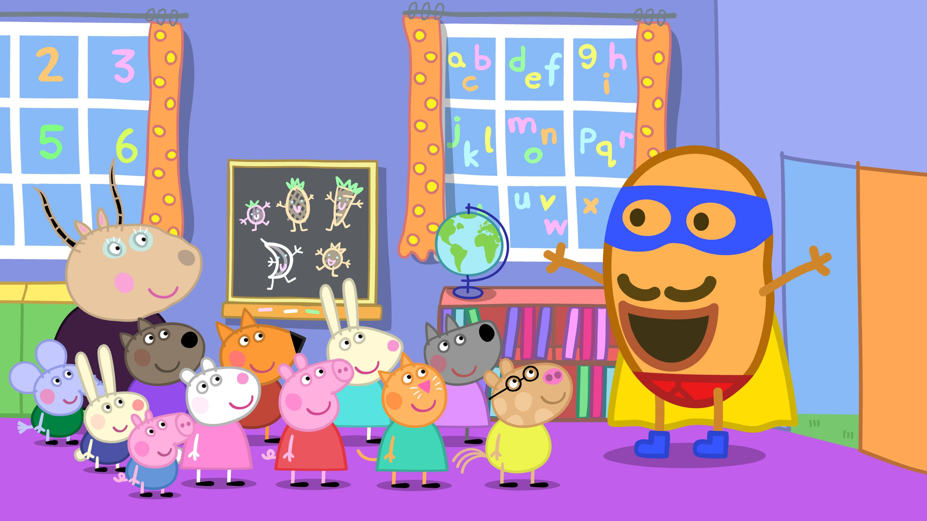 Peppa Pig Meets a Superhero in New Nickelodeon Episodes This