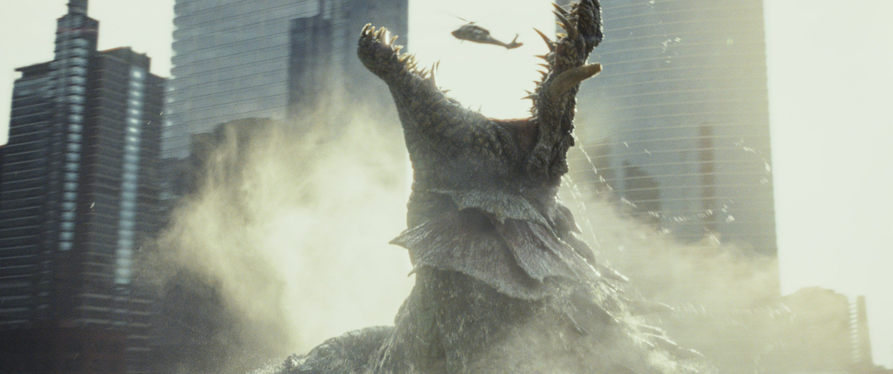 New Rampage Movie Images Reveal The Monsters Collider