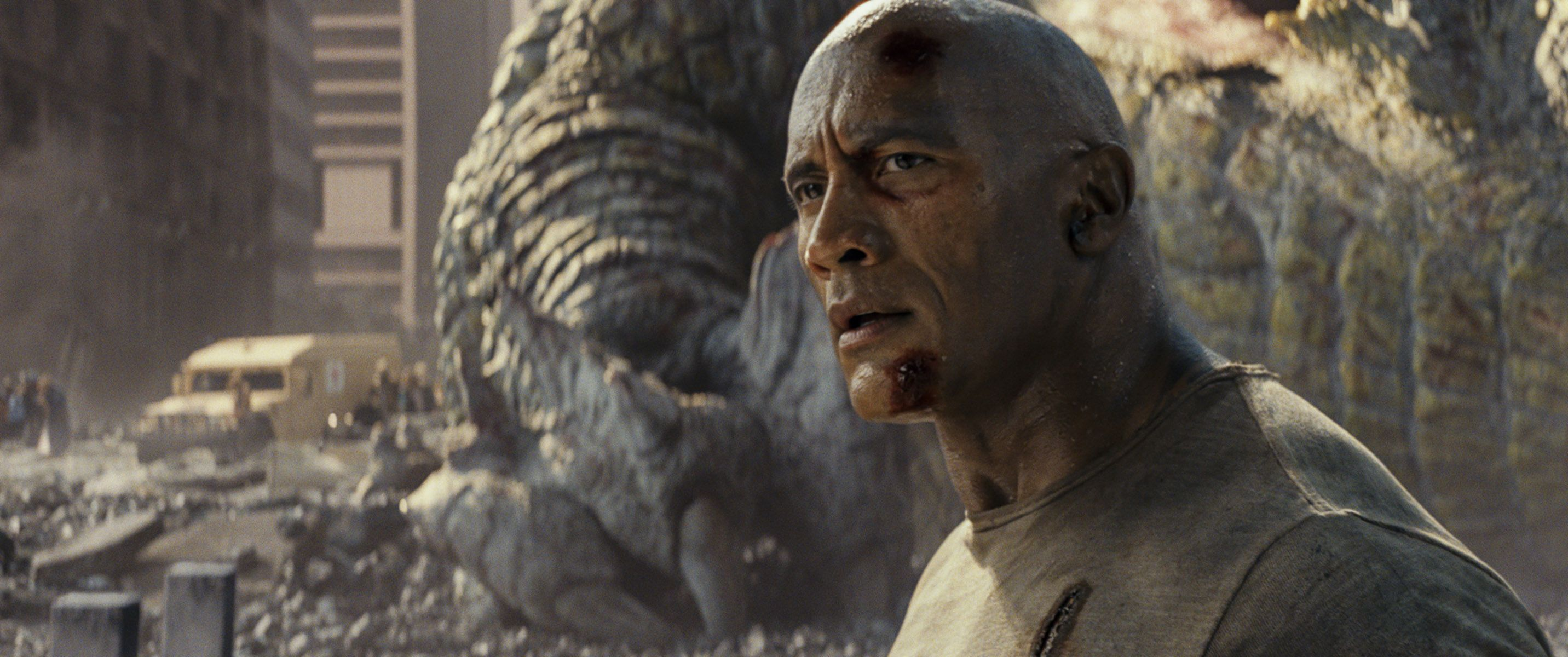 Rampage Original Ending Nearly Made Dwayne Johnson Quit Collider