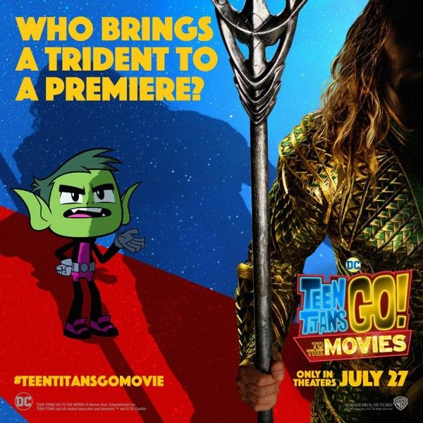 Teen Titans Go Movie Cast Read Your Comments; New Trailer