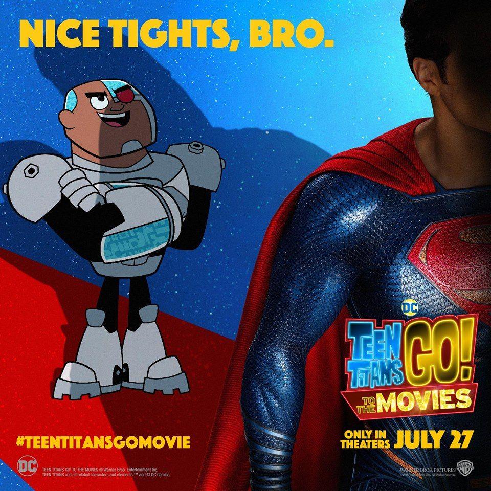 Thanks The teen titans movie