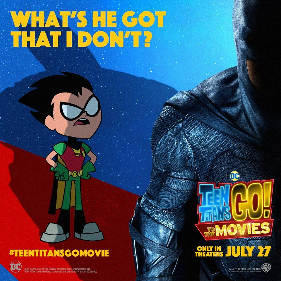 Teen Titans Go Movie Cast Read Your Comments New Trailer -7609