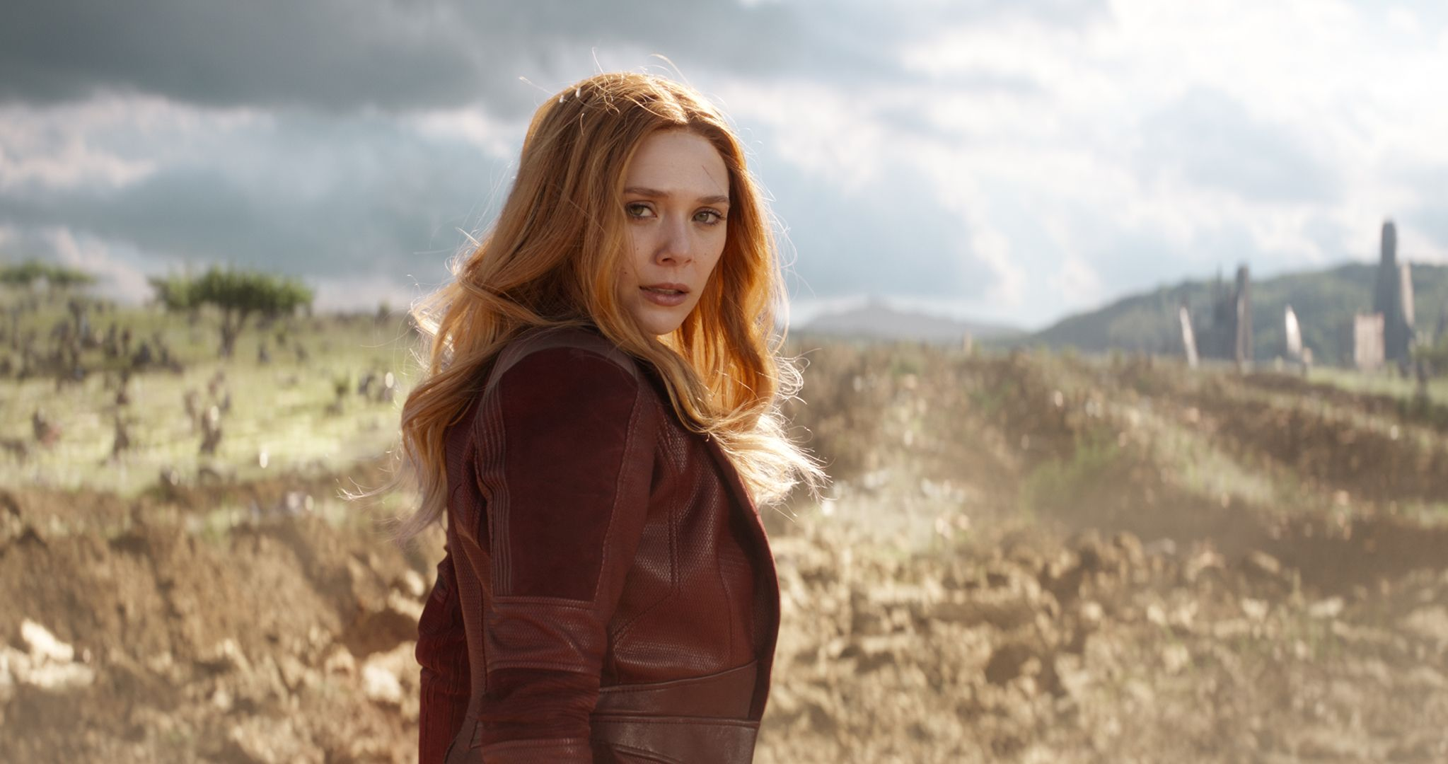 Infinity War: Scarlet Witch's Accent Explained by the Russos