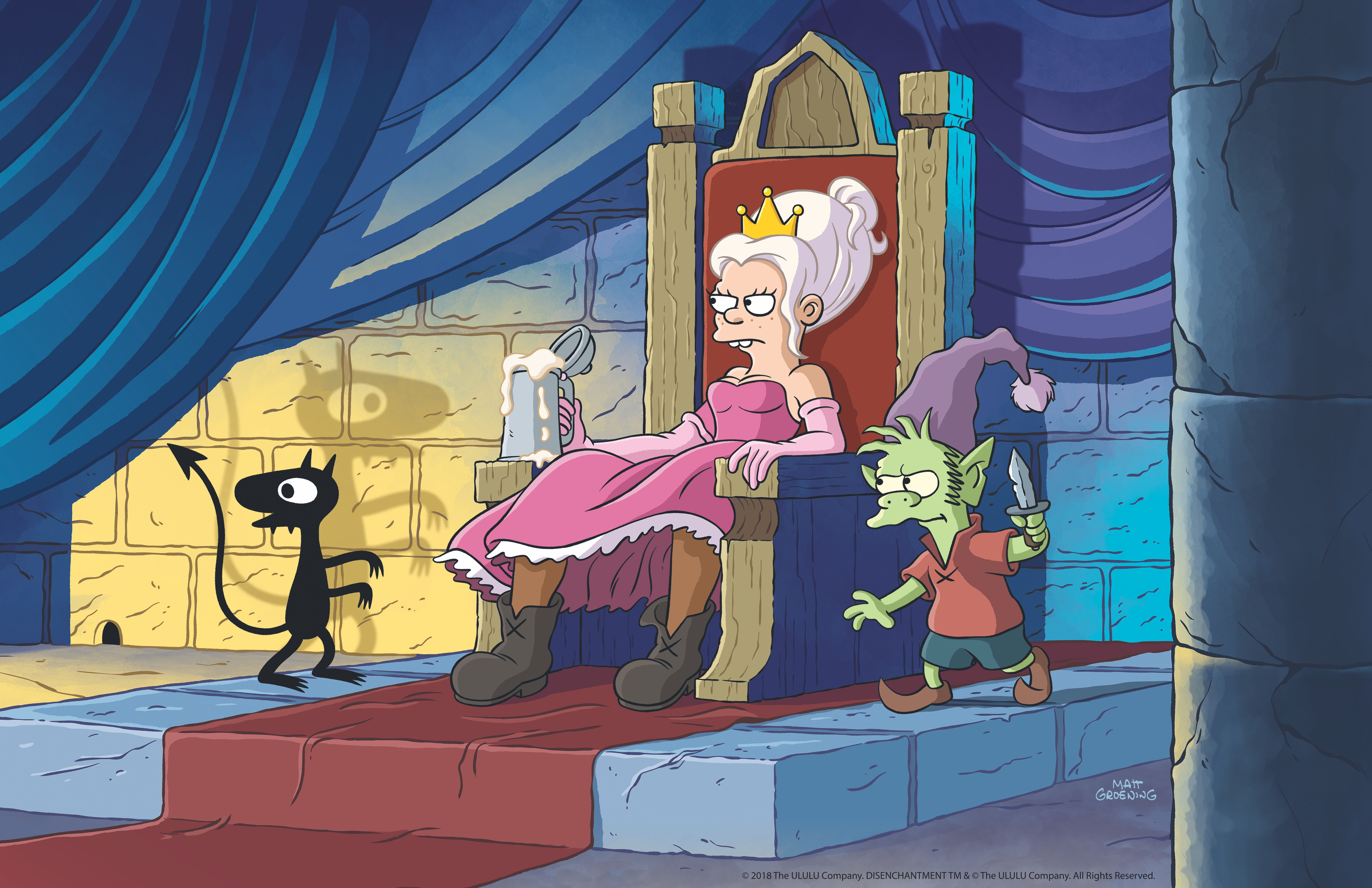 Disenchantment Review: Groening's Netflix Series Is an ...