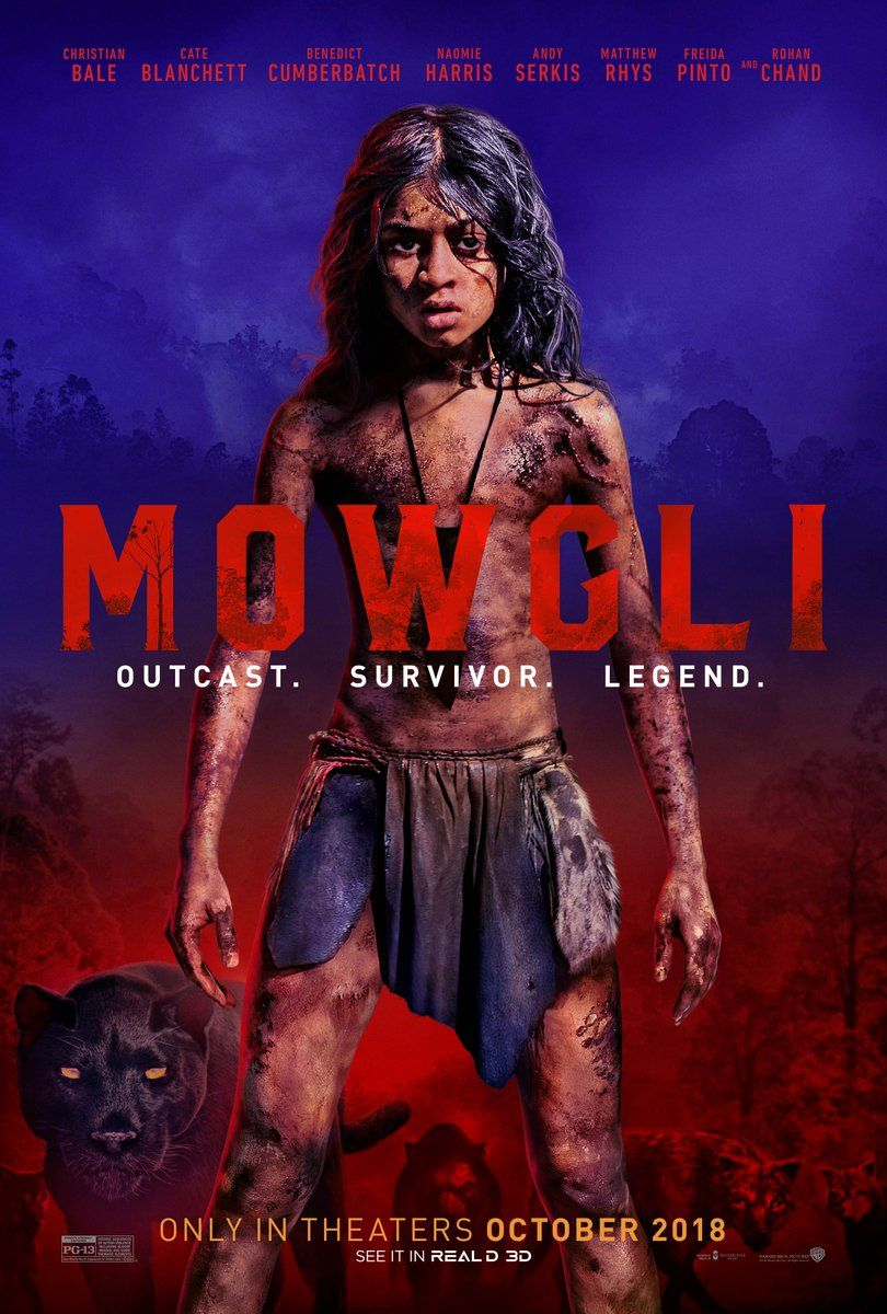 Image result for mowgli on netflix