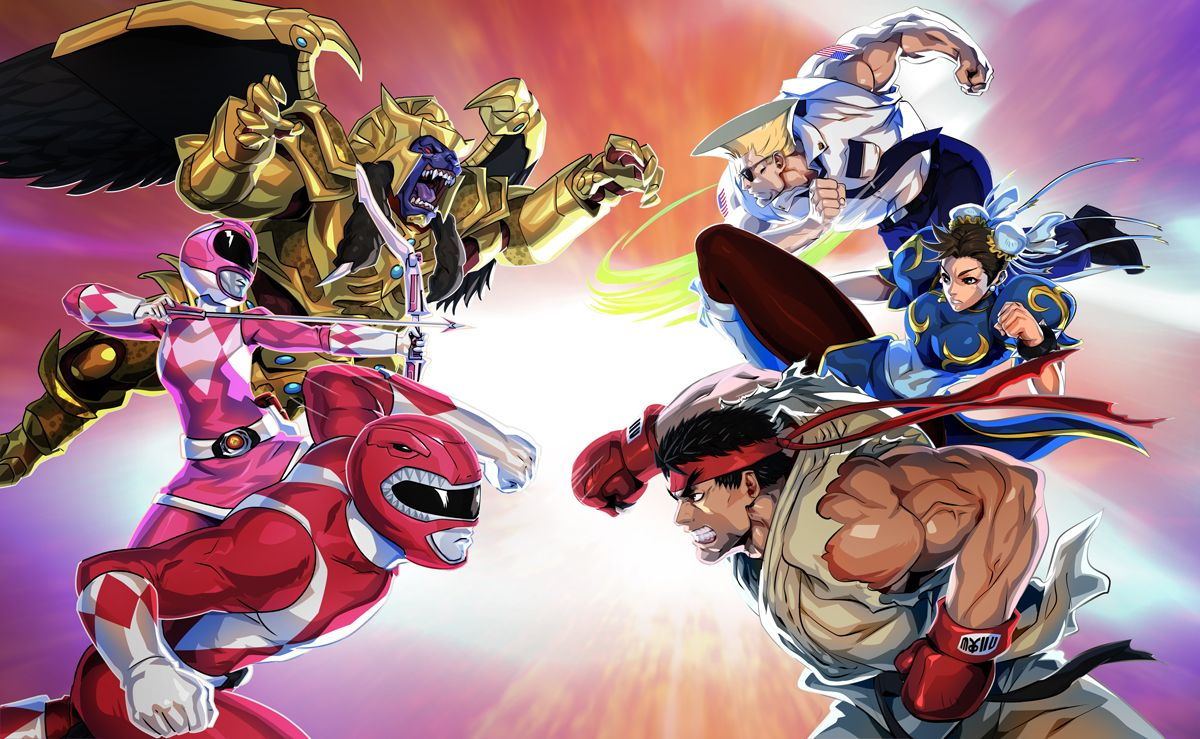New Trailer Shows Street Fighter Characters Coming to Power Rangers: Legacy Wars