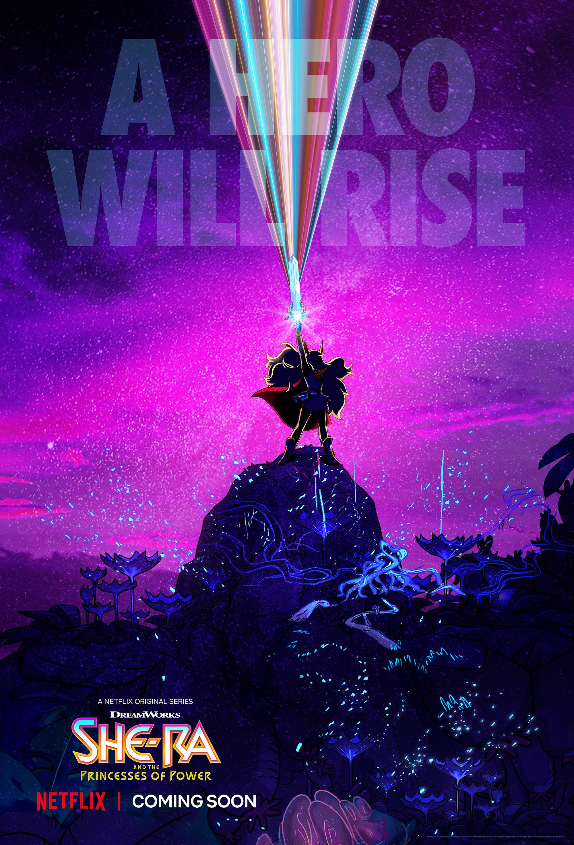 Netflix's She-Ra Series Cast and First-Look Image Revealed