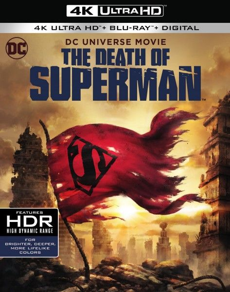 the-death-of-superman-4k