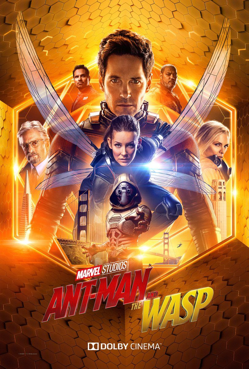 New Ant-Man and the Wasp Posters Show Bigger Is Better | Collider