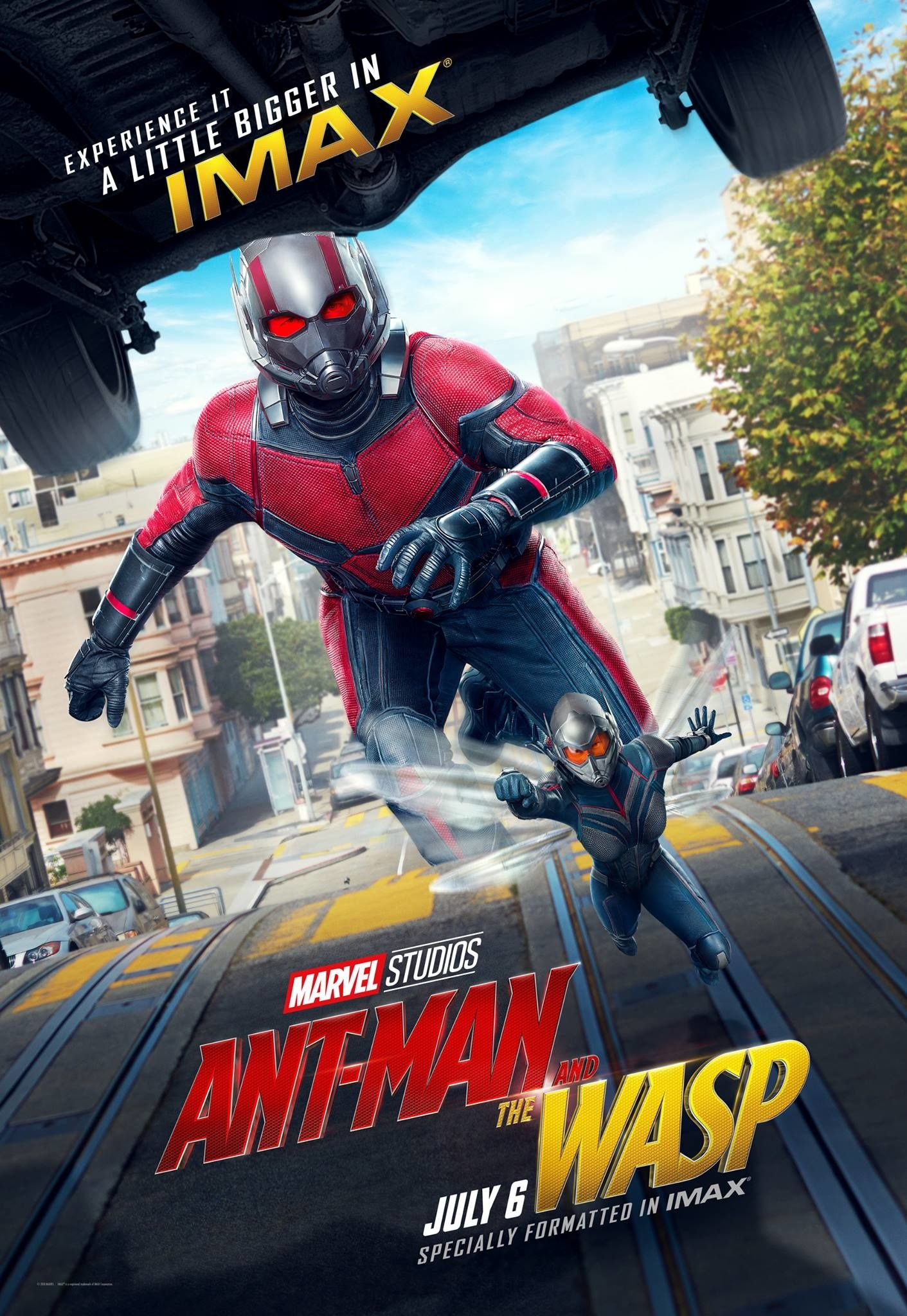 New Ant Man And The Wasp Posters Show Bigger Is Better Collider