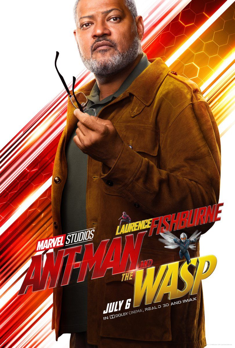 Ant Man And The Wasp Posters Reveal Michelle Pfeiffer S Janet Van