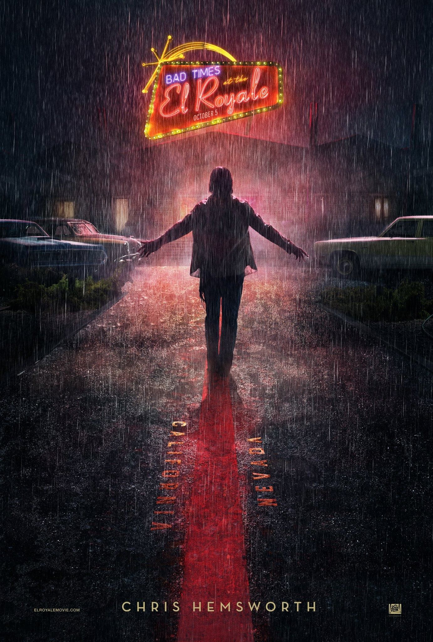 bad times at the el royale posters reveal the cast collider