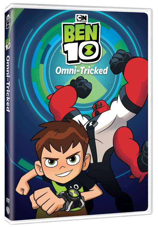 Ben 10 Giveaway: Omni-Tricked DVD and Playmates Toys Can Be