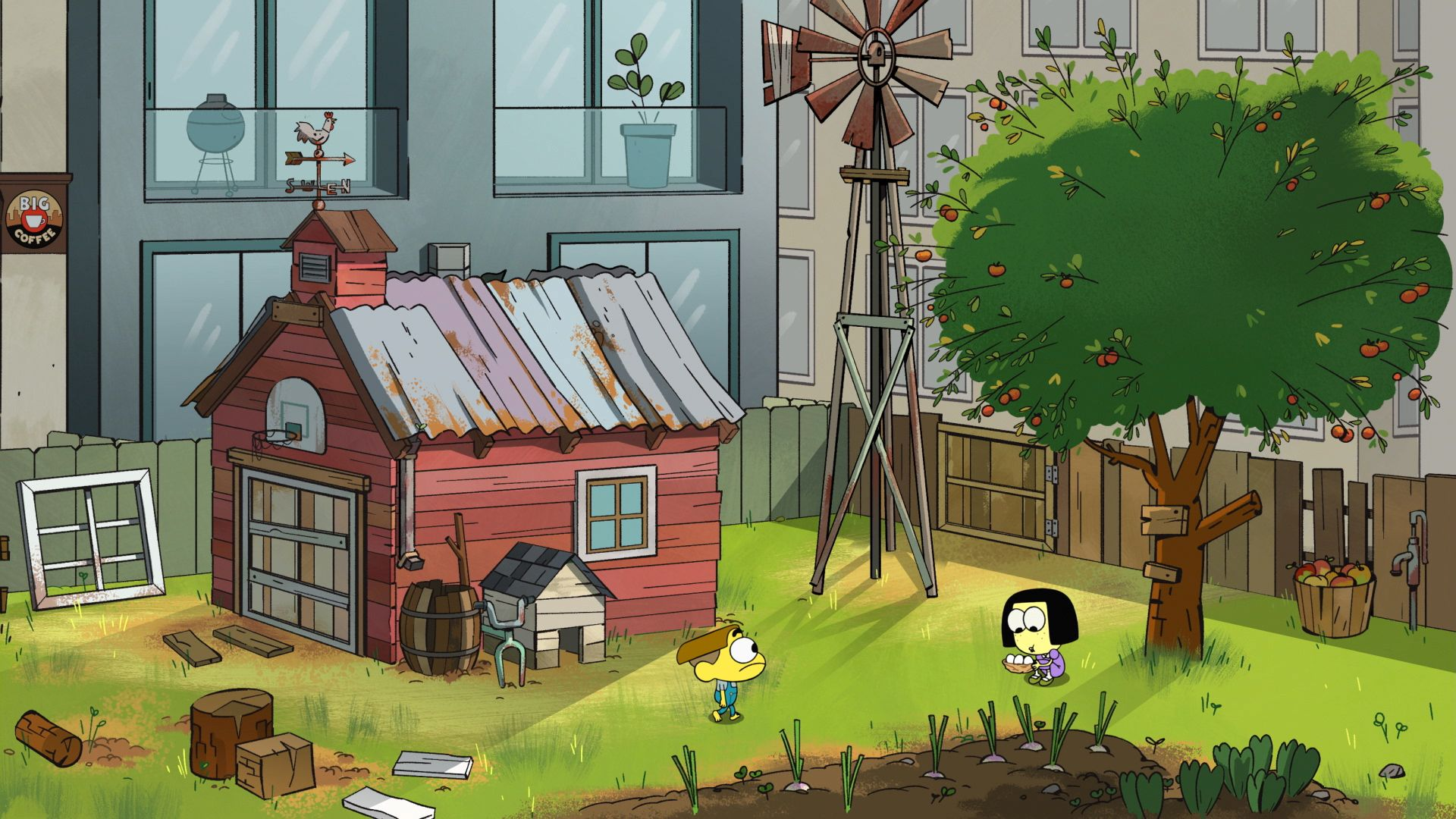 Big City Greens Images Reveal Chris And Shane Houghton S