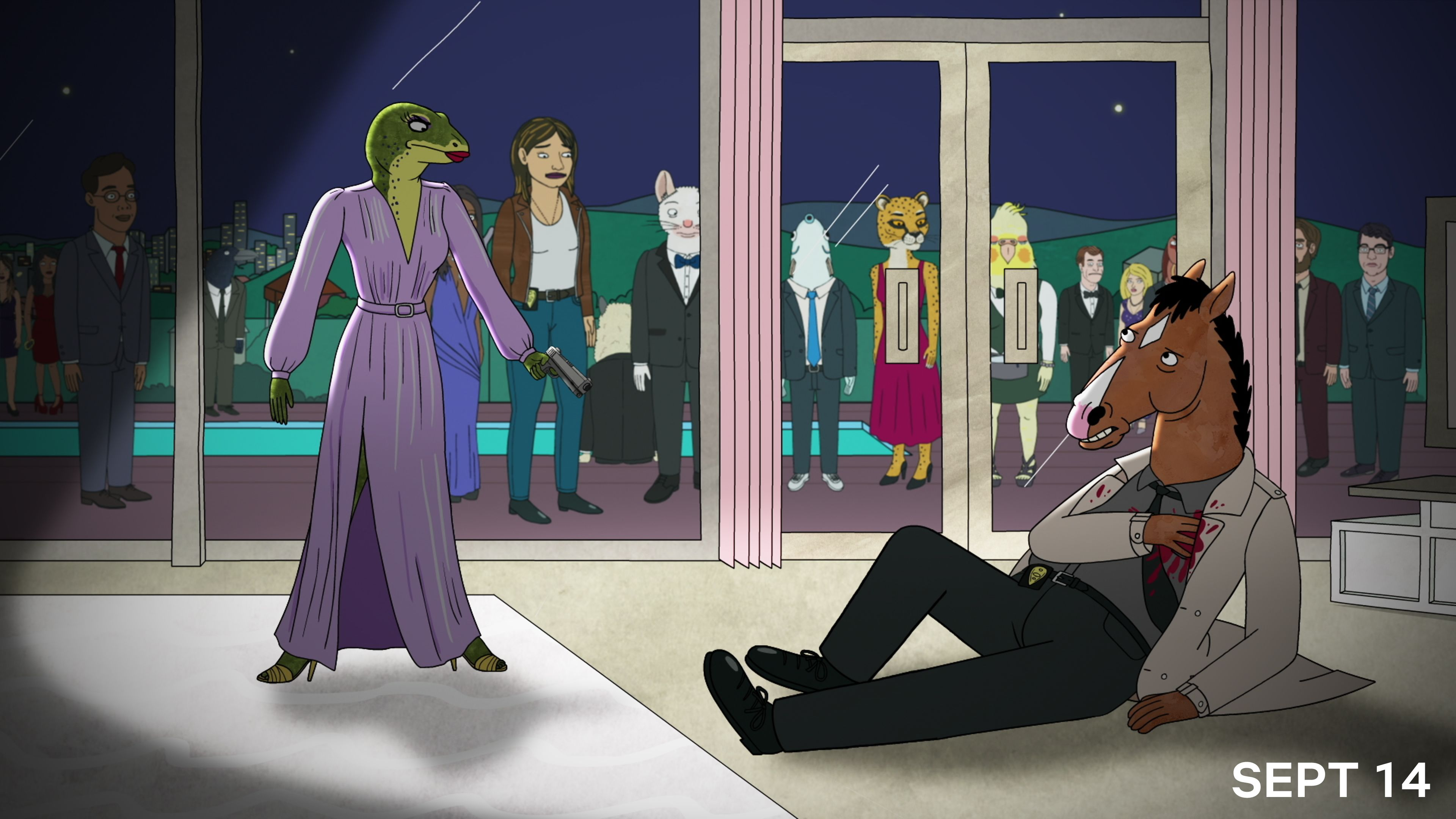 Netflix's 'BoJack Horseman' Is Coming to Comedy Central