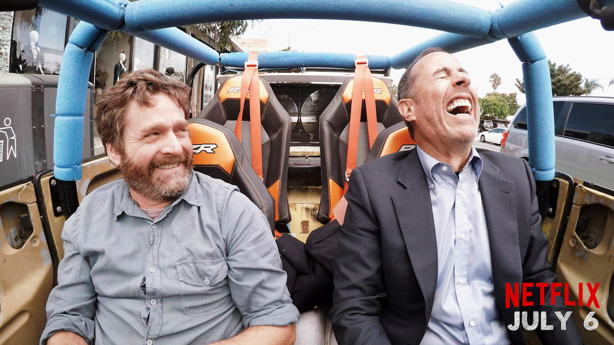 comedians in cars getting coffee trailer reveals new guests on netflix collider. Black Bedroom Furniture Sets. Home Design Ideas