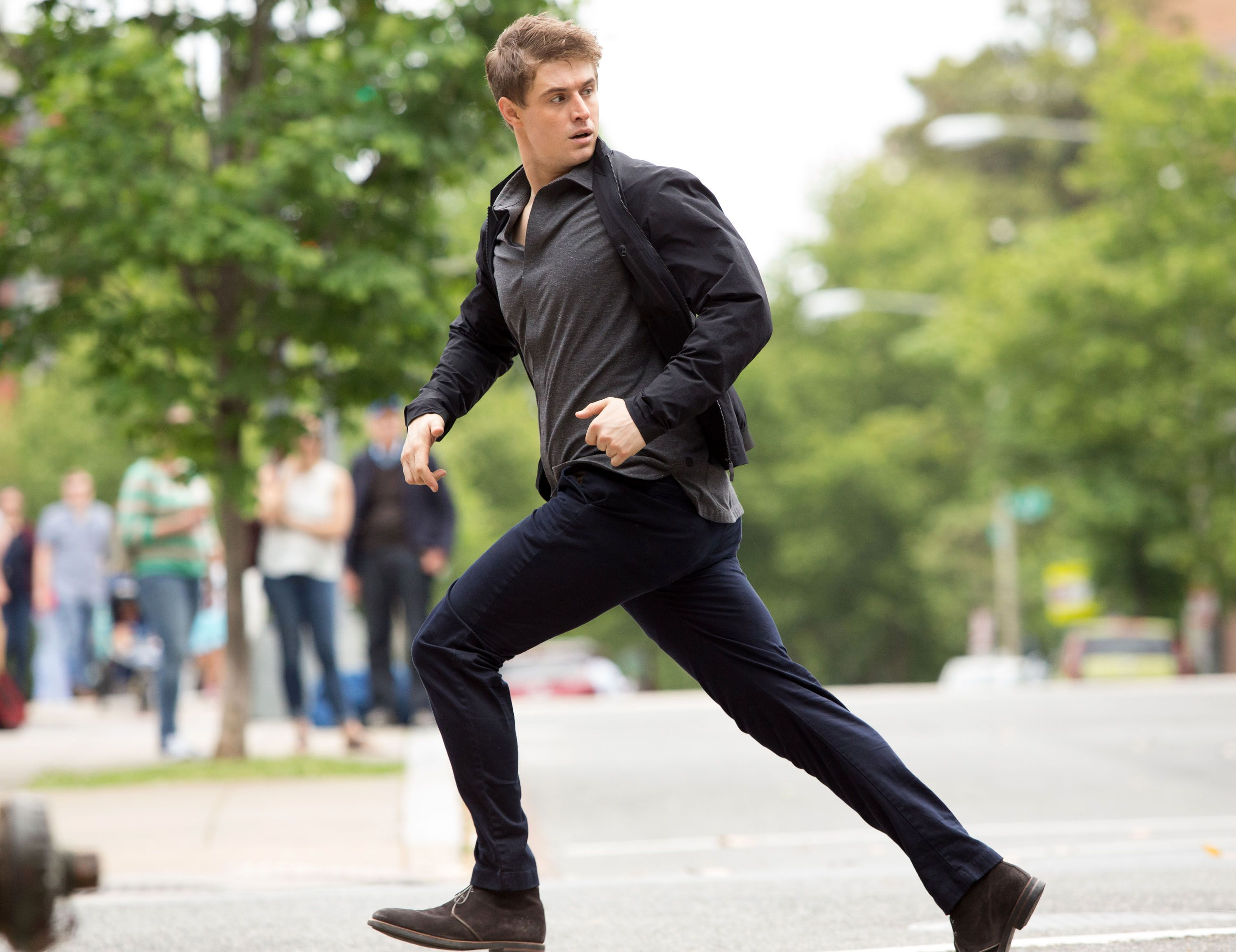 Condor: Max Irons on Playing a Hunted Man in the Thriller Series