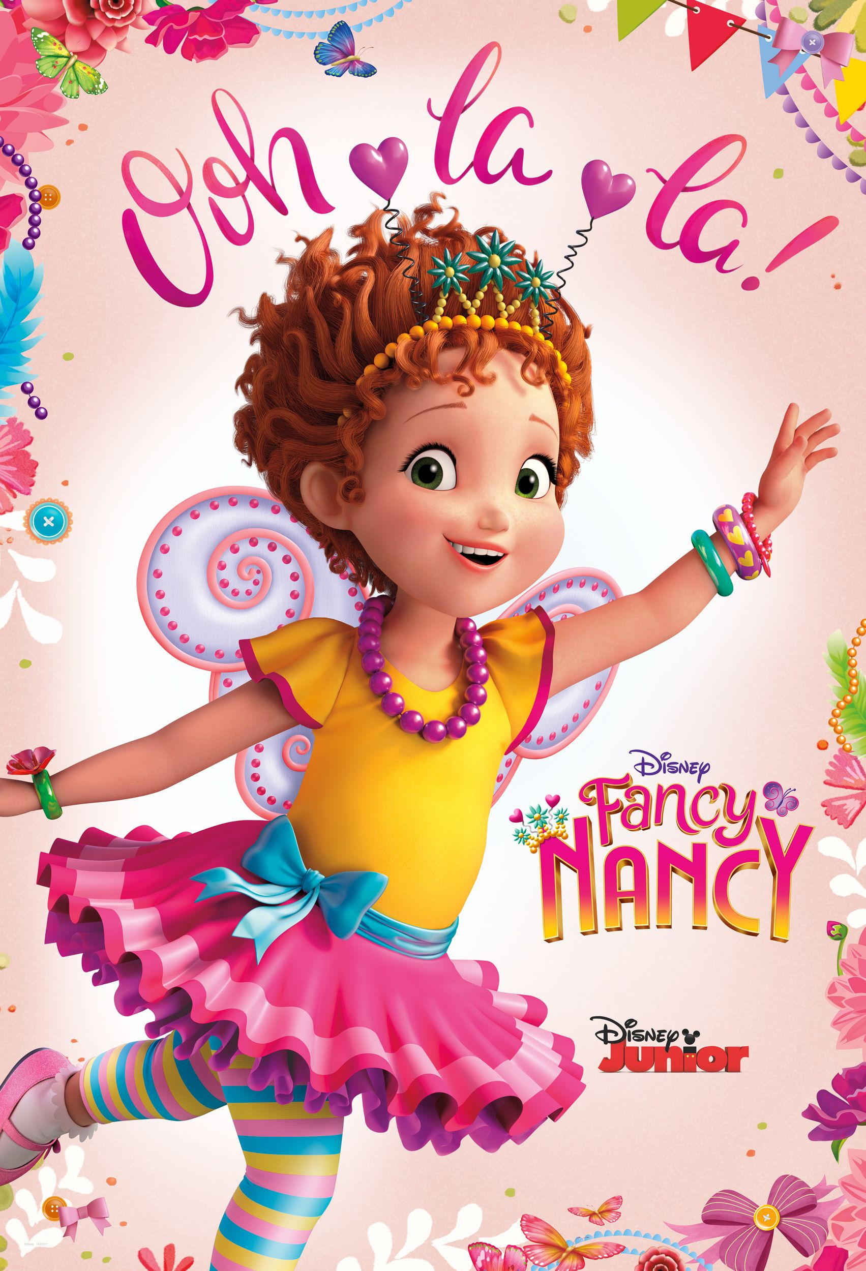 Fancy Nancy Krista Tucker on Adapting the Books for