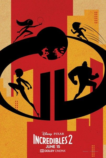 Incredibles 2 Poster From Dolby Cinema Shows Off Super