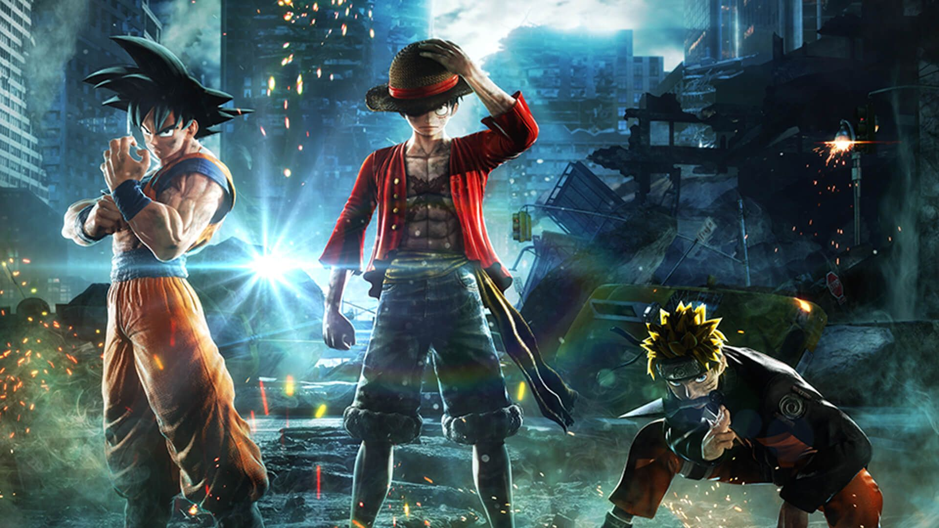Jump force trailer promises the fighting game we never knew we always wanted