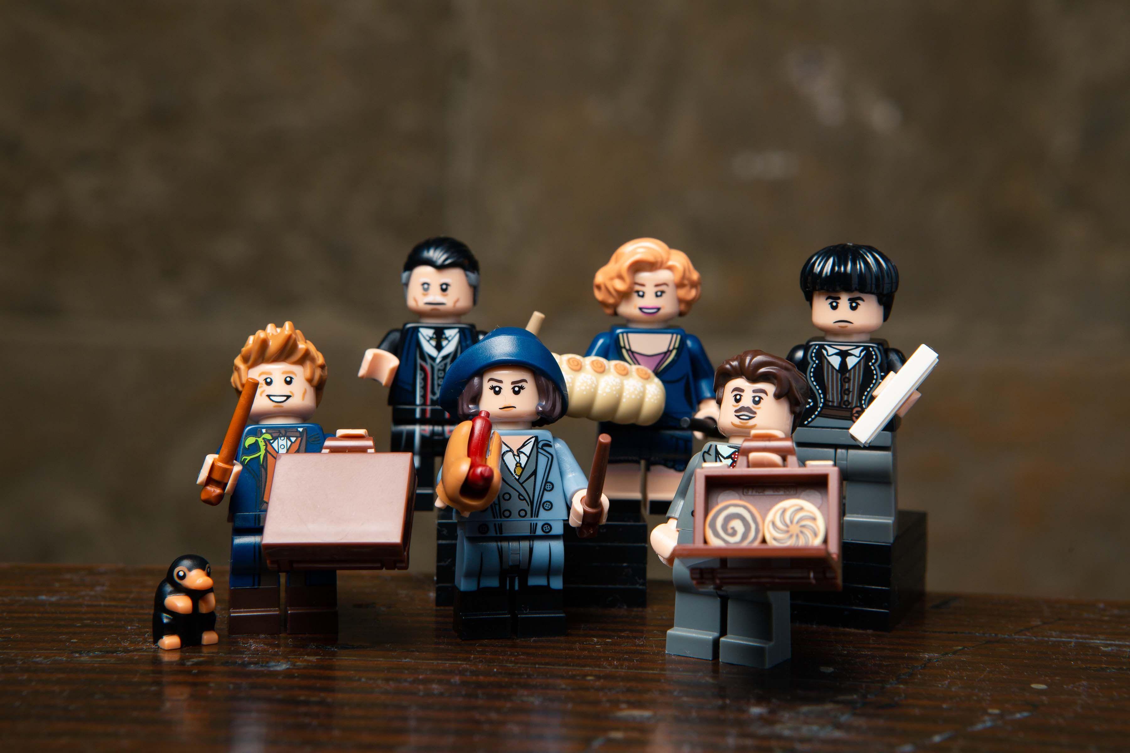NEWT SCAMANDER Harry Potter Fantastic Beasts Minifigure