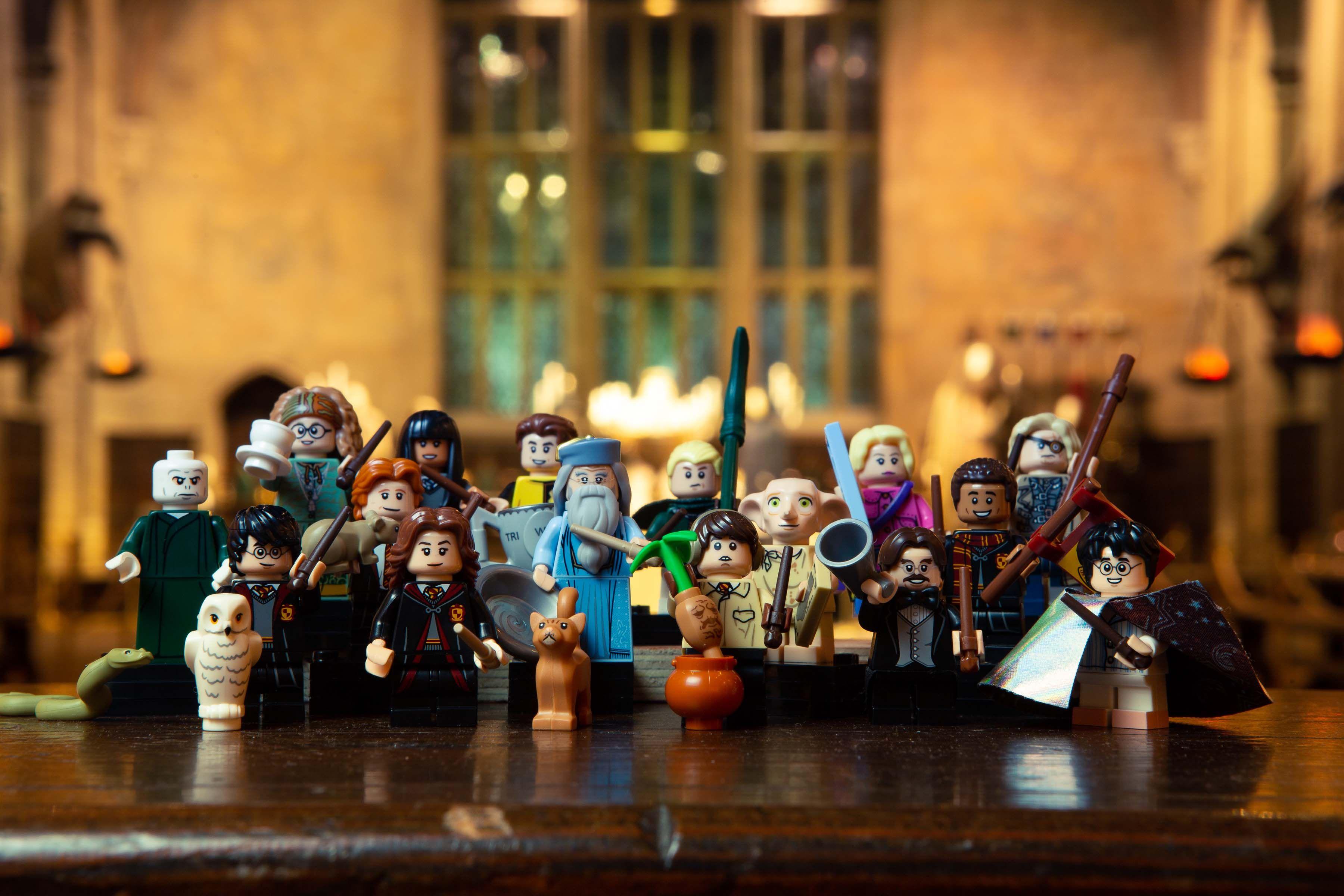 Lego Harry Potter Fantastic Beasts Minifigures Images Collider