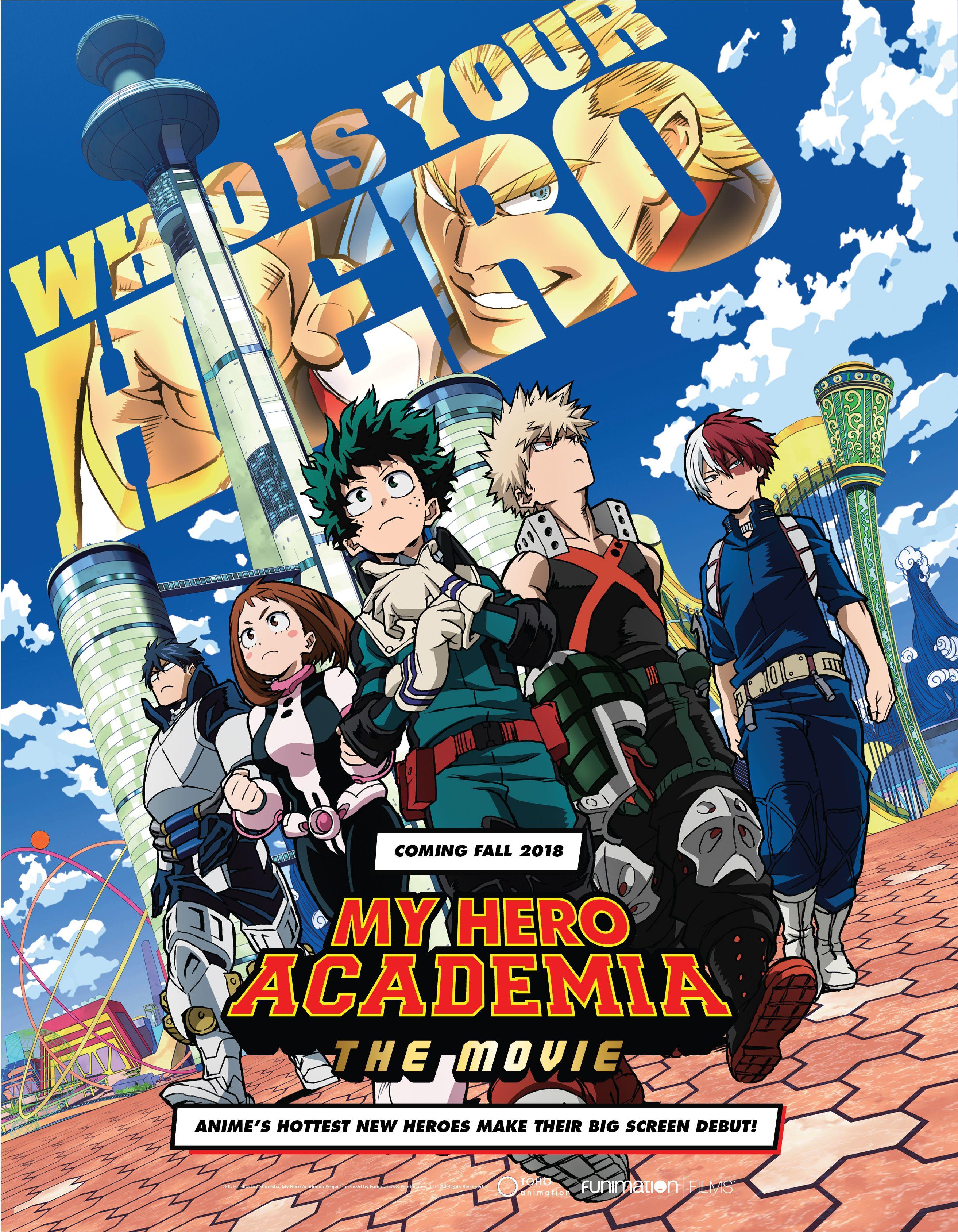 My Hero Academia Movie World Premiere at Anime Expo 2018 ...