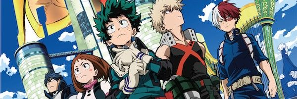 My Hero Academia Two Heroes Bluray Includes an English Cast