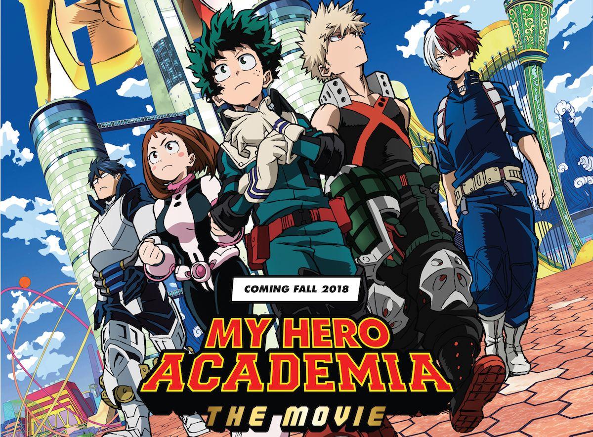 Comic-Con 2018 Animation News: My Hero Academia Movie