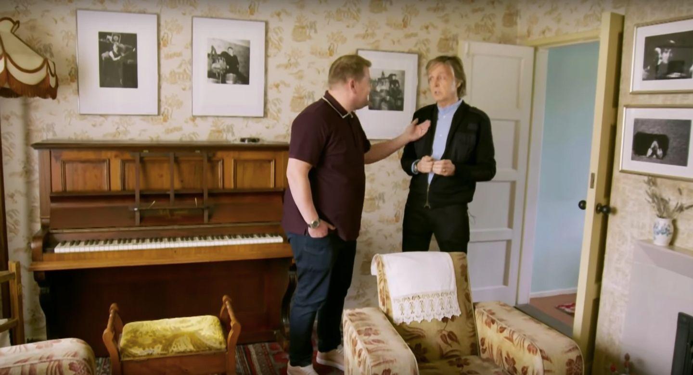 Paul Mccartney Carpool Karaoke Takes An Emotional Turn With James