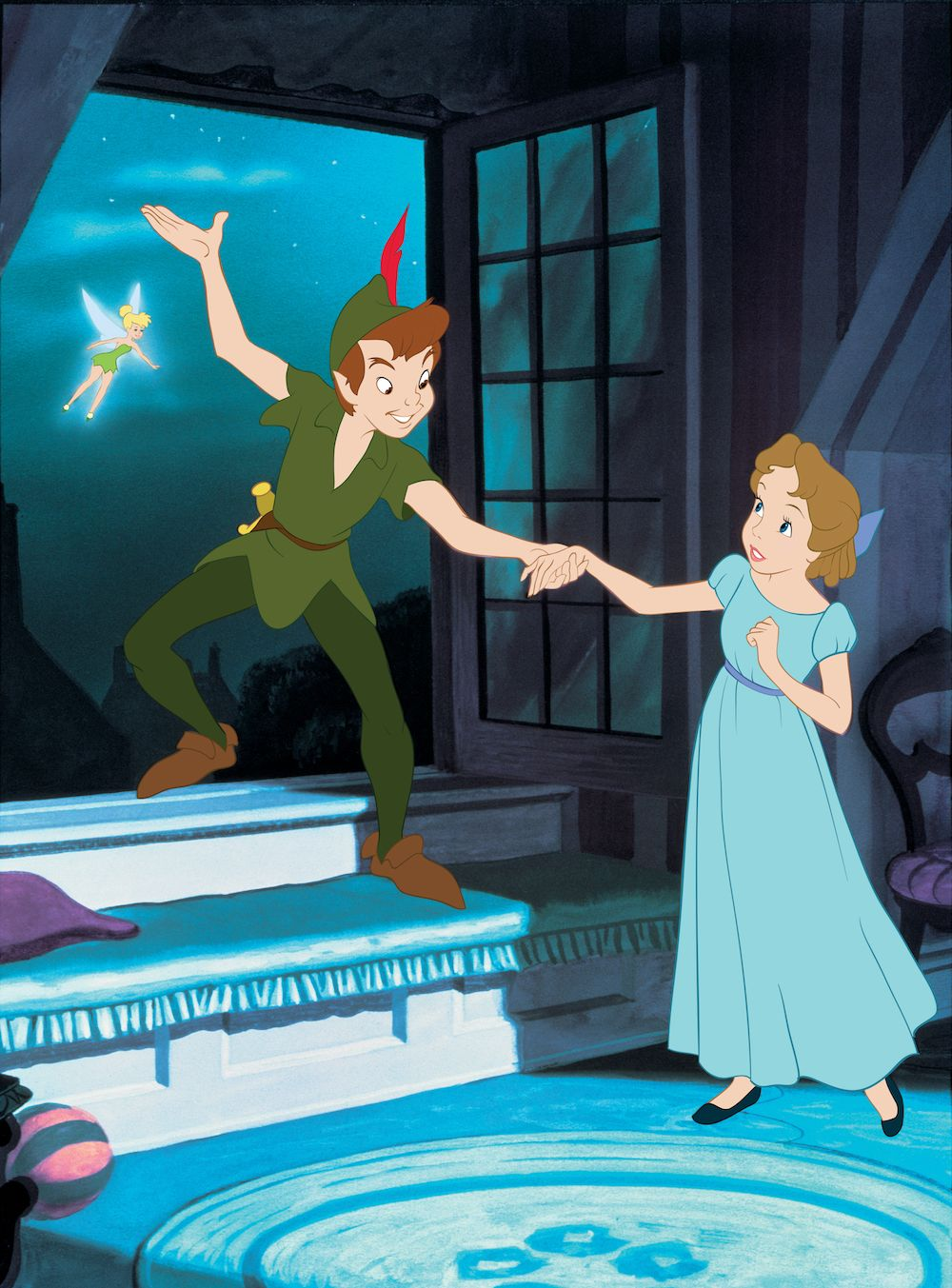 Peter Pan Blu Ray Review 65th Anniversary Brings A