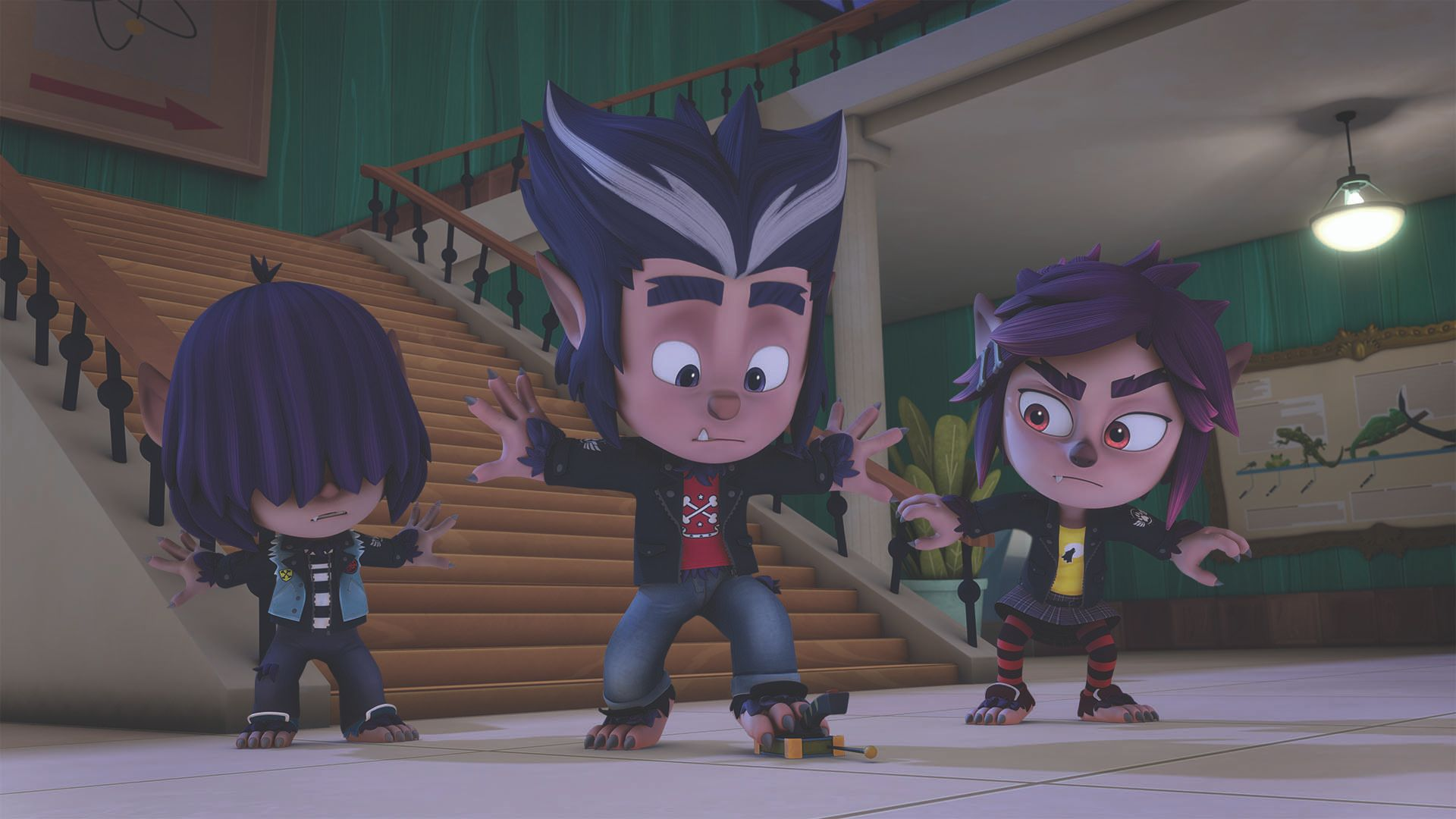 pj masks new episodes feature the wolfy kids on disney junior